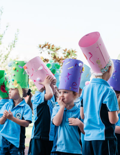 Community Hub, bcc beginners easter hat parade 5526