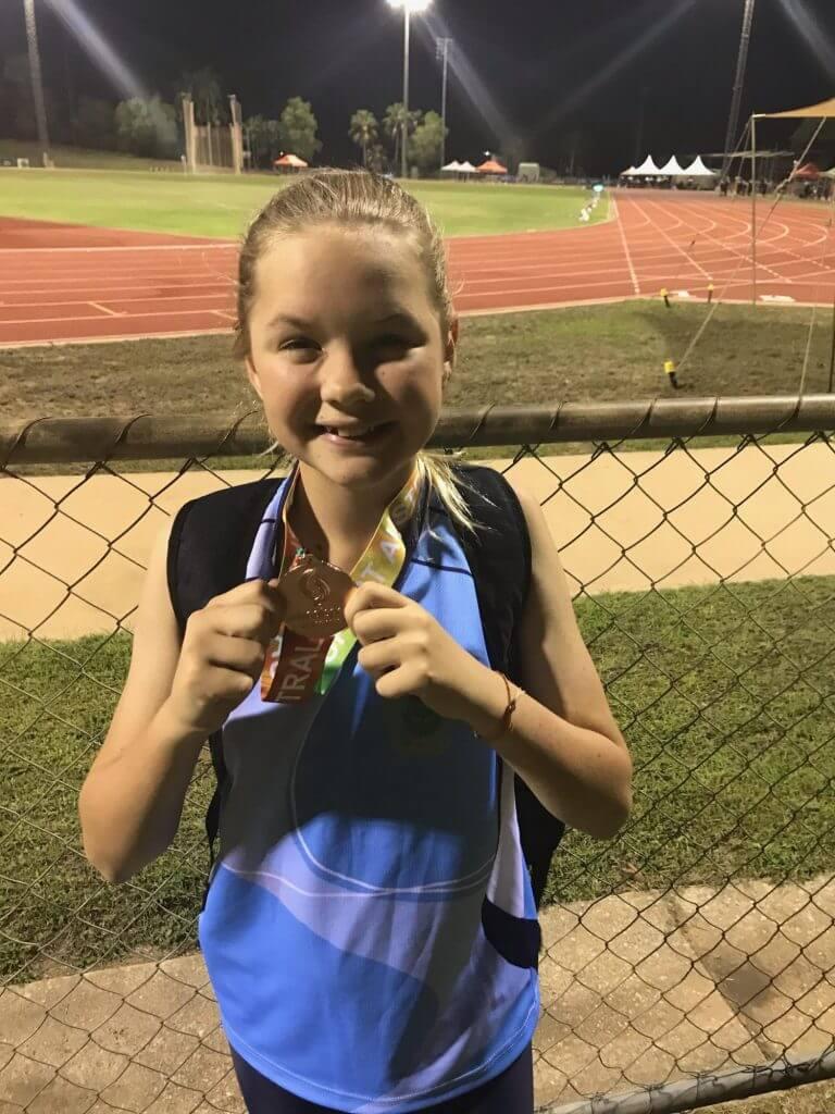 Sport News, Victoria Robinson Bronze at Nationals