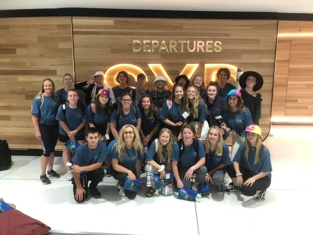 Mission Trips, Boarding at Sydney