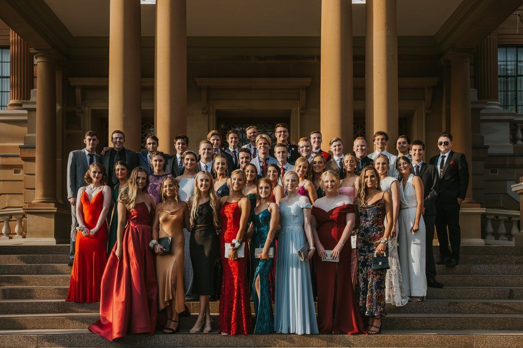 Year 12 Formal, Stairs