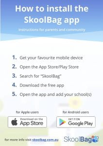 Keep Informed at the College Website, How to install the SkoolBag App 00d761
