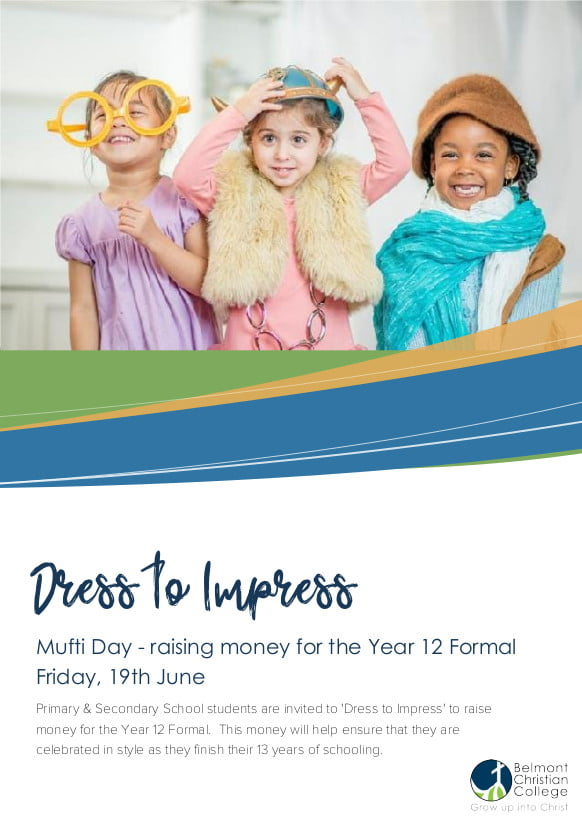 'Dress to Impress' Mufti-Day, Dress to Impress Mufti Day 1 1