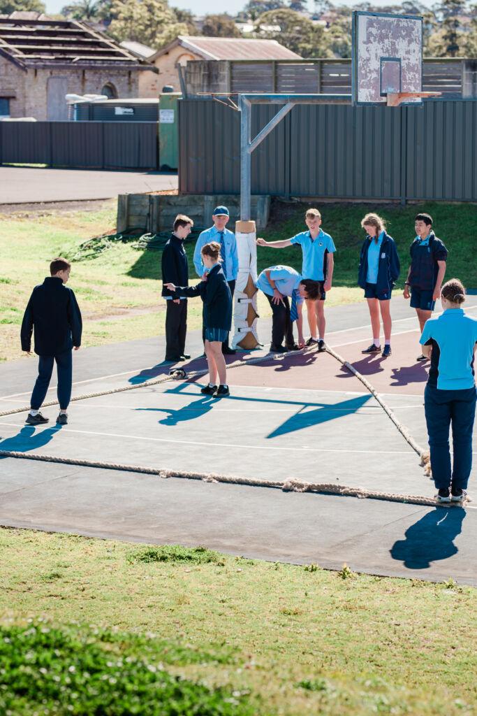 Secondary School News, bcc year7maths pythagoras 069