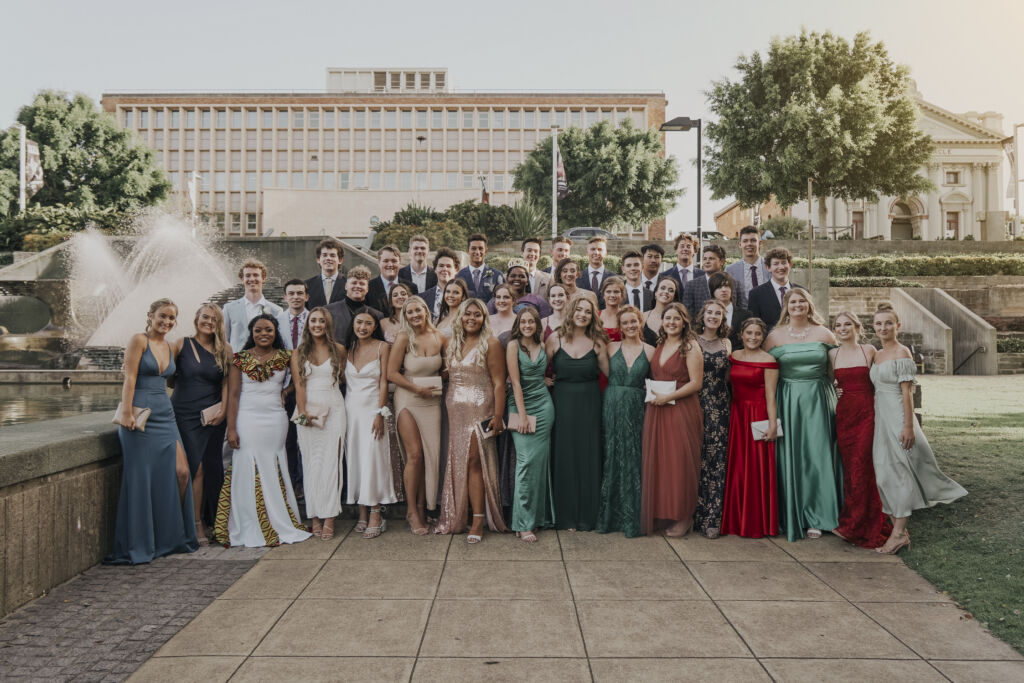 Year 12 Formal, group 1