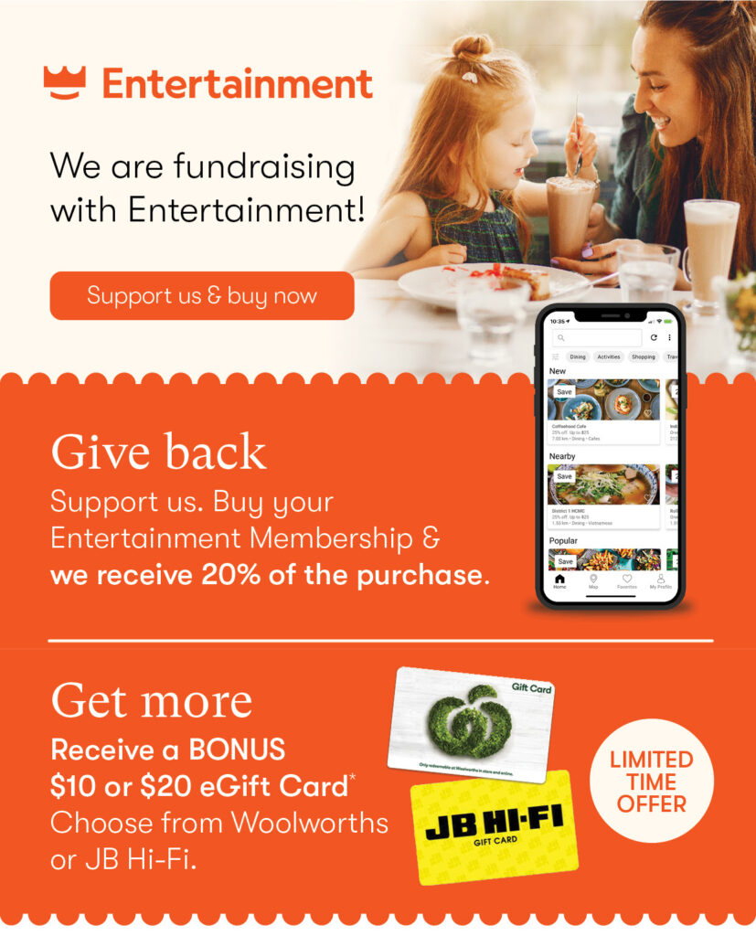 Fundraising with Entertainment Book, Ent bk 1