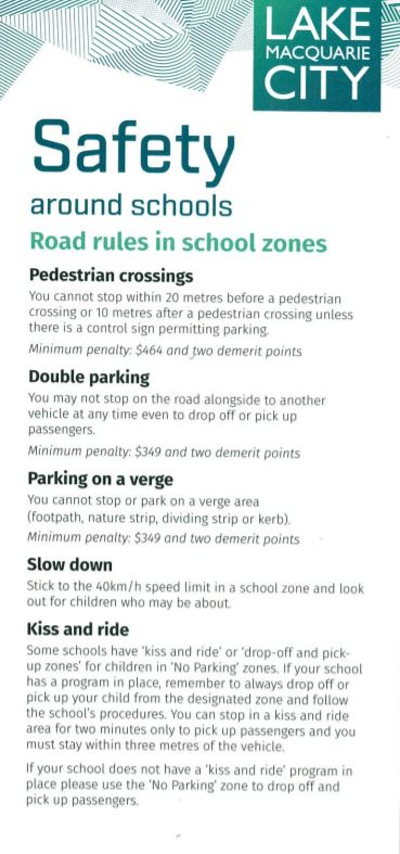 Getting to and from School, School zone