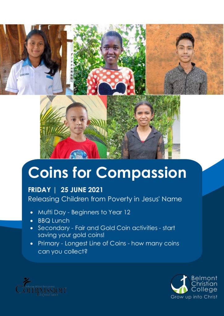 Coins for Compassion, Coins for Compassion 2021 Poster