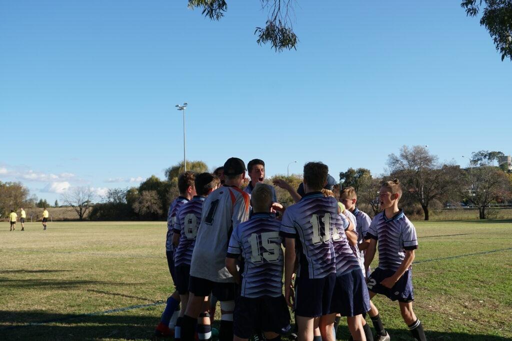 Sport News, Soccer jnr boys