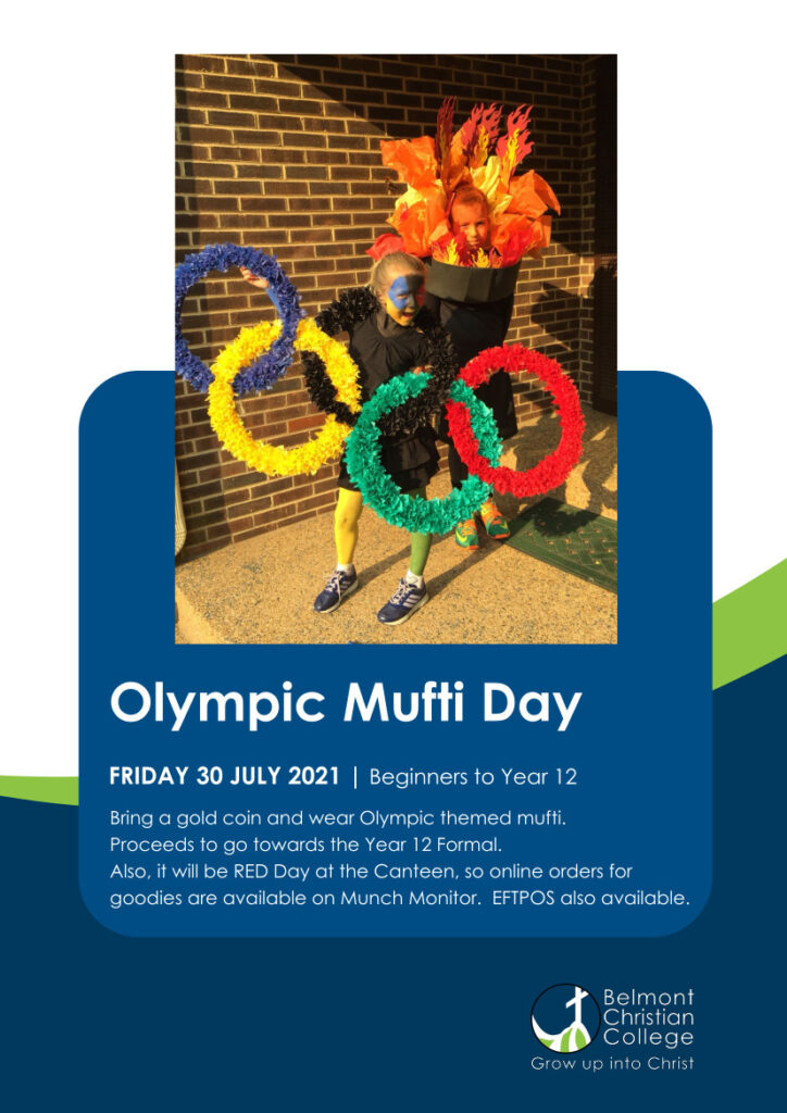'Olympic' Mufti Day this Friday, 30th July, Red Olympic Mufti Day 300721 3