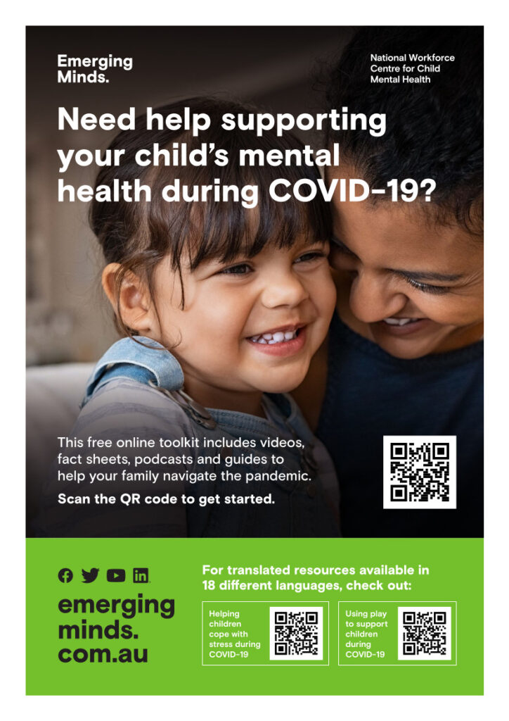 Parent and Caregiver Webinars, Pandemic toolkit poster final