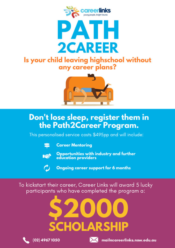 Parent and Caregiver Information, Path2Career Flyer